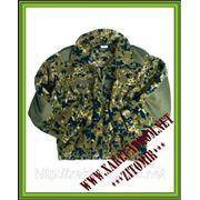 Флисовая курточка (камуфляж дании) фото