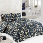 Комплект постельного белья Symphony Золотисто-чёрный, сатин, 100% хлопок, 1,5х фото