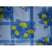 Клеенка в рулоне 1,40х25м Лимон Синий