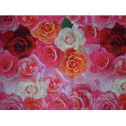Клеенка в рулоне 1,40х25м Розы