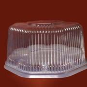 Пластиковая упаковка для тортов Тр-15 фото