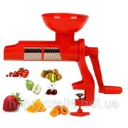 Juice Extractor For Tomato, ручная соковыжималка для овощей и фруктов – свежесть и бодрость на каждое утро! фото