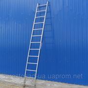 Односекционная приставная лестница Alumet 5110