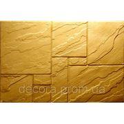 Формы для производства фасадной плитки «Цокольная плита № 4» глянцевые пластиковые фото