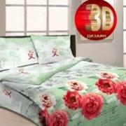 Ткань постельная Бязь 125 гр/м2 220 см Набивная Поэтическое свидание 4013-2/S871 TDT фото