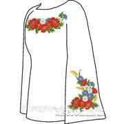 Заготовка для вишивки бісером Жіноча сорочка. Арт. СВЖ-3 фото