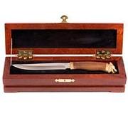 Нож туристический в подарочной шкатулке