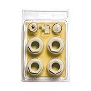 """Комплект 1/2"""" для подключения биметаллического или алюминиевого радиатора фото"""
