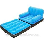 Велюровое кресло 67277 BESTWAY фото