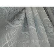 """Тюль """" Нежный заветок"""" - кристалон с вышивкой 100243-ЛА -1 фото"""