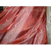 Тюль Вертикалка-волна полуорганза 0008-2-Л -1 фото