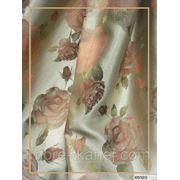 Жаккард для штор Цветы фото