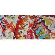 Обивочная ткань Граффити (Graffiti) скотчгард фото