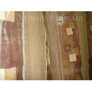 Тюль Полуорганза - квадратик Турция 13174 -1 фото