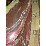 Тюль Полуорганза - золотой квадратик Турция 13520 - Т -1 фото