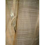 Тюль Полуорганза с кружочкамы Турция 2419-3 -1 фото