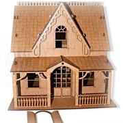 Лазерная резка архитектурных макетов и моделей фото