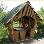 Деревянные беседки для дачи цена и фото беседки из ...Киев, Украина... фото