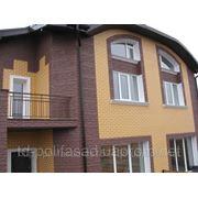 Теплый фасад, утепление фасада, фасадные панели 15 грн. шт. фото
