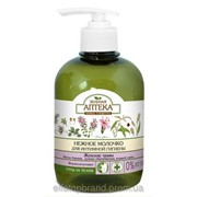Молочко для интимной гигиены Нормализующее с женскими травами Зеленая аптека370 мл фото