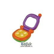 Развивающая игрушка-погремушка Телефончик фото