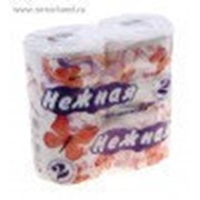 Туалетная бумага НЕЖНАЯ 2-сл БЕЛАЯ (4рул/упак) (12упак/пак) фото