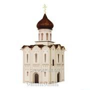 Конструктор Сборная модель Церковь Покрова на Нерли XII век фото