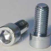 Винт DIN 912 цилиндрическая головка, внутренний шестигранник M8x80, А2 фото