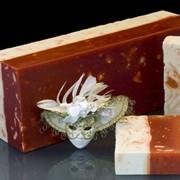 Натуральное мыло с белой глиной и маслом какао (100 гр)