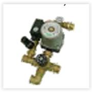 Подмешивающие модули для теплого пола (термостатический клапан, насос, термометр, с байпасным вентилем и без) (ВагЬегі) фото