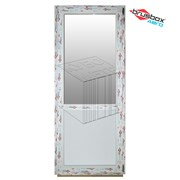 Дверь ПВХ 2000х800 профиль Brusbox Aero фото