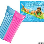 Матрац надувной для плавания матовый 59703 фото