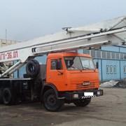 Аренда автовышки АГП-36 — 36 метров фото