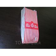 Бумажный пакет для фаст-фуд фото