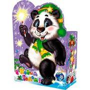 """Новогодняя упаковка """"Панда"""" 1,8-2,0кг"""