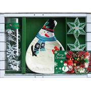 Керамический набор новогодний, арт.04,313,00 фото