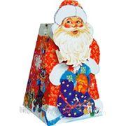 """Новогодняя упаковка """"Дед мороз"""" 1,3 кг фото"""