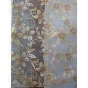 Тюль рис. цветы фото