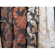 Плотная ткань для штор - узор Ветка 2 фото