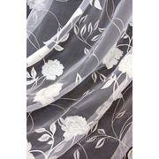 Ткань для портьер, гардин, штор.Тюль.Печать на органзе фото