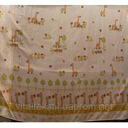 Ткань для гардин Вуаль - Детская печать (любой цвет с фото) Турция фото