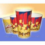 Стакан бум. для попкорна V-130 фото