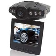 Видеорегистратор Globex HQS-205B ИК подсветка, 720*480, 30fps, микрофон, SDHC до 64GB