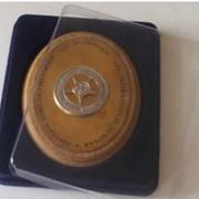 Подарочная упаковка для приза овальной формы фото