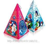 "Новогодняя упаковка ""Пирамида"" 0,65кг фото"