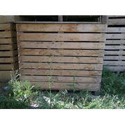 Деревянные ящики для овощей фото