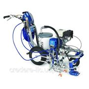 Установка для нанесения дорожной разметки Graco Line Lazer 3400 фото