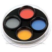 """Набор светофильтров Celestron, 1.25"""""""" (№21 оранжевый, №80А голубой, №15 жёлтый) (94119-10) (94119-10) фото"""