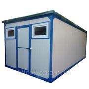 Вагончик 6м, мобильные здания (модульное здание) бытовка под склад фото