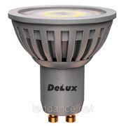 """Светодиодная лампа """"DELUX 5 ВТ GU10"""" фото"""